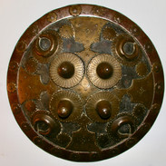 A 19th c Indian shield.