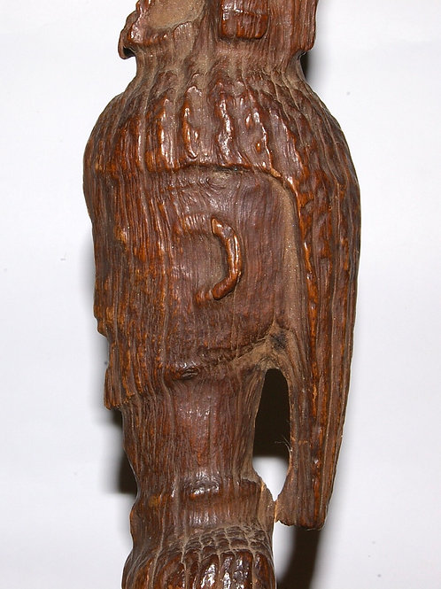 A superb Dogon figure, carved using the natural form of the branch. Mali.