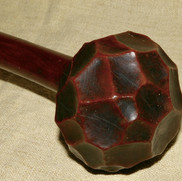 A 19th c Zulu facited knobkerrie. Ex Marvin Chasin collection.