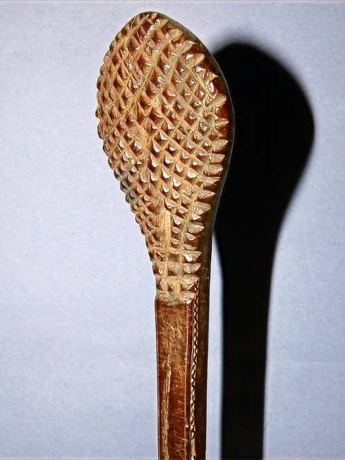 A mystery object. Possibly a back scratcher. Early 20th C.
