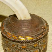 A Massim gourd lid/stopper.