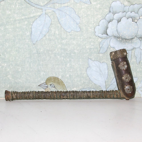 A Xhosa woman's pipe.