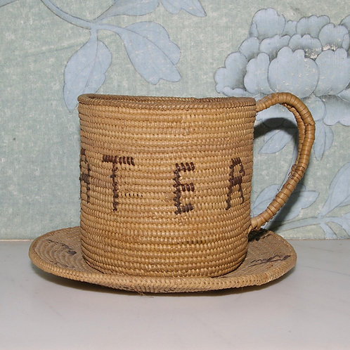 "A Zulu basket mug. ""Very nice and water"""