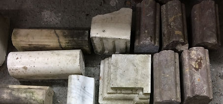 A selection of marble