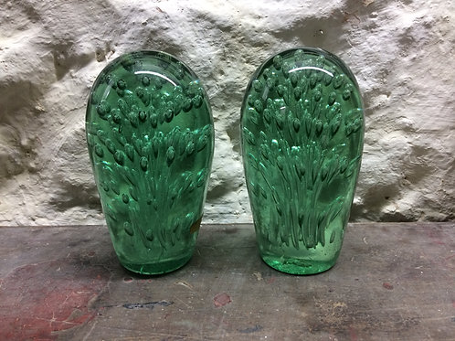 A pair of Victorian bubble dumps. SOLD
