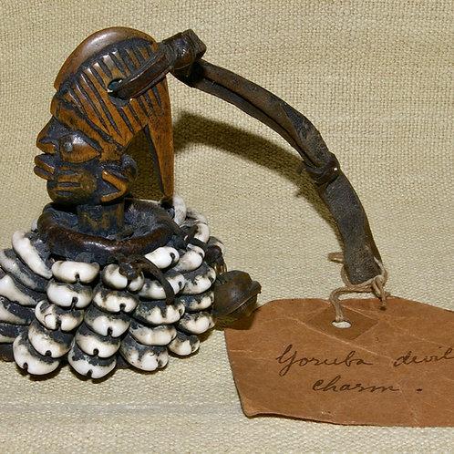 A Yoruba Eshu amulet.