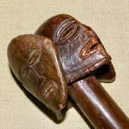 A Chokwe staff.