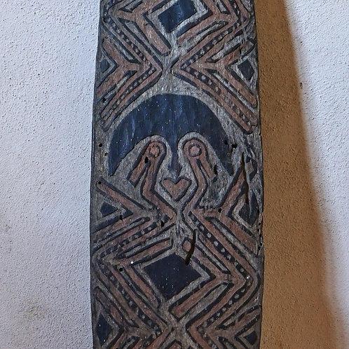 An Elema gope board, Papuan Gulf. Papua New Guinea. Late 19th C.