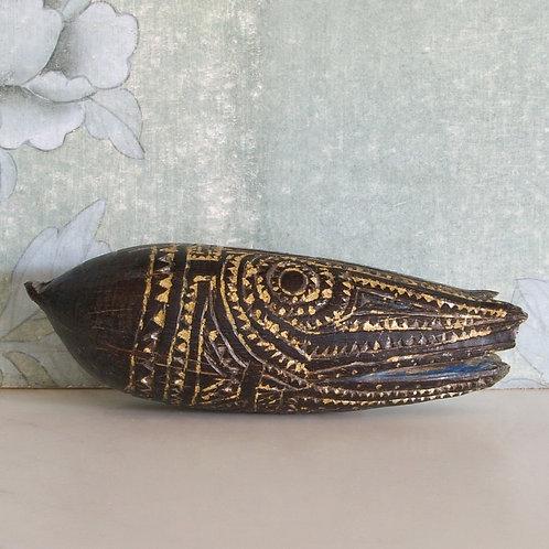 A Marupai ornament. Papuan Gulf. Papua New Guinea.