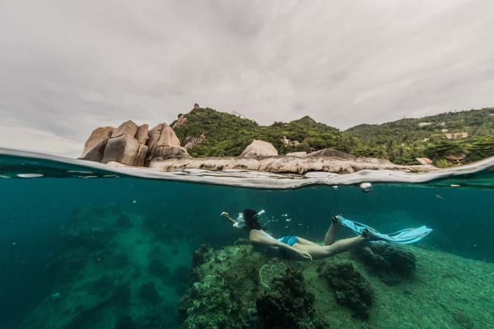 snorkeling kohtao