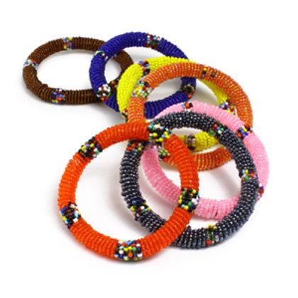 Shinny  Beaded Bracelet