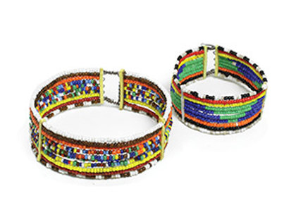 Clip On Beaded Braclets