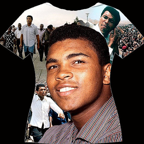 Muhammad Ali Peoples Champion/Queen fitted Tee