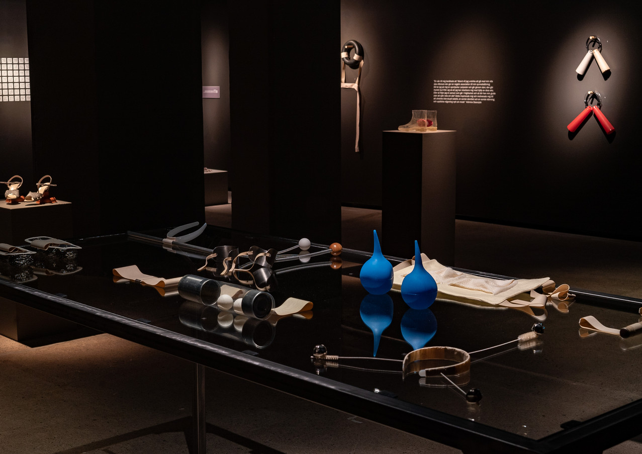 Exhibition Sound to Wear_Textile Museum of Sweden_photo by Jan Berg