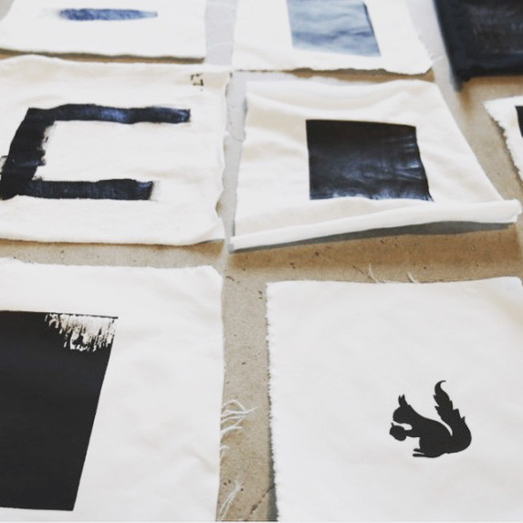 Sonic Prints_collaboration with textile engineer Melkie Tadesse at the Swedish School of Textiles_photo by Vidmina Stasiulyte