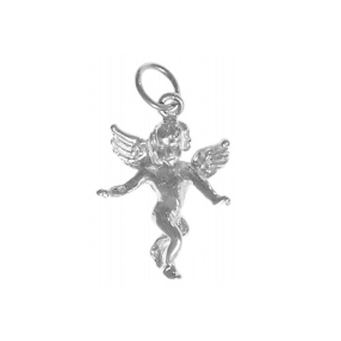 Guardian Angel Sterling Silver Pendant (Style #374-16)