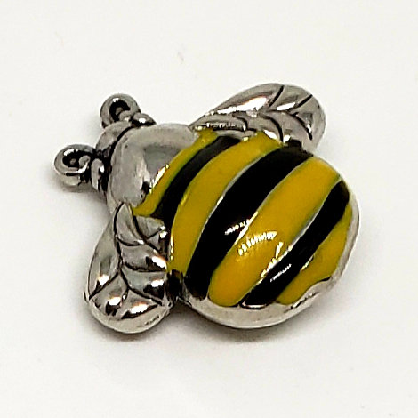 The Bumble Bee Cannot Fly Charm