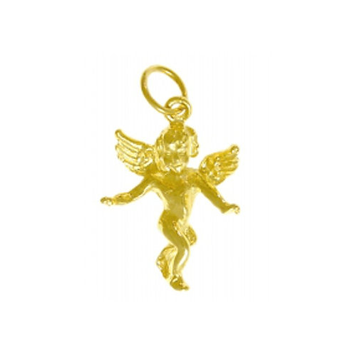 Guardian Angel 14k Gold Pendant (Style# 374-16)