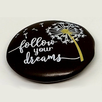 Wish Upon A Dandelion Stone Charm