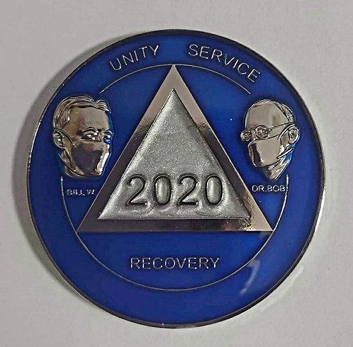 Bill and Bob 2020 AA Coin