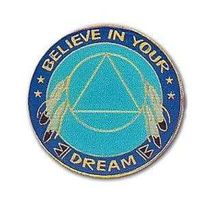 Believe In Your Dream Medallion