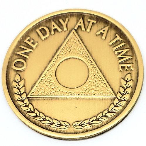 Al-Anon Bronze Coin Months