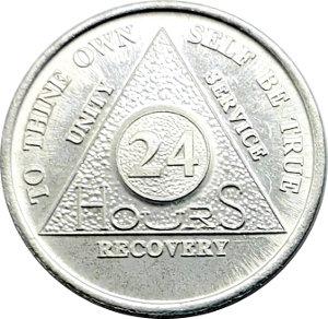 AA Aluminum Coin 24-hour