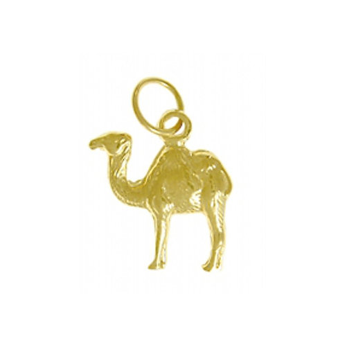 Adorable Camel 14k Gold Pendant (Style #69-16)