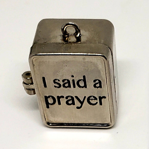 Thank You For Hearing My Prayer Charm