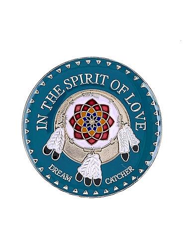 In The Spirit Of Love (Dream Catcher) Medallion