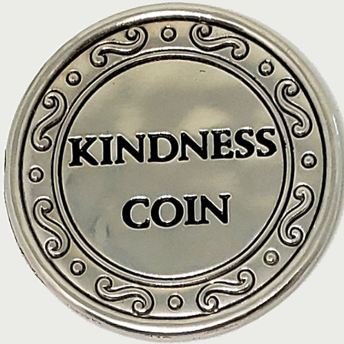 The Kindness Coin Charm