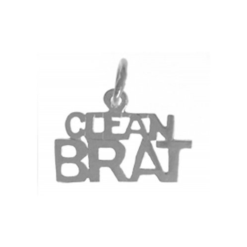 Clean Brat Sterling Silver Pendant (Style #553-15)