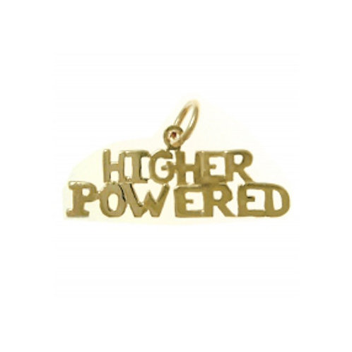 Higher Powered 14k Gold Pendant (Style #152-15)