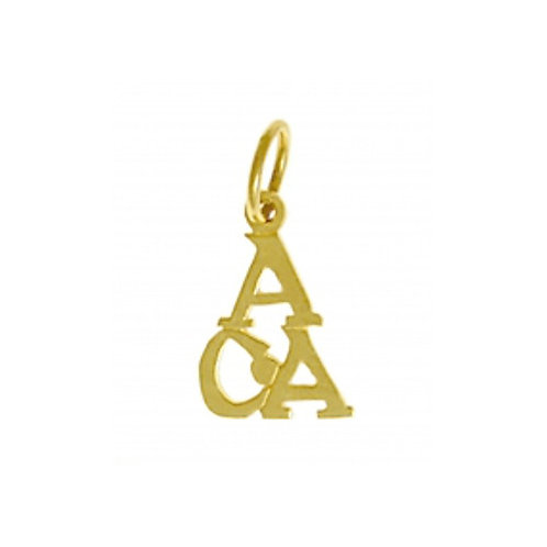 Adult Children Of Alcoholics 14k Gold Pendant (Style #76-16)