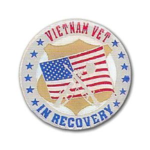 Vietnam Vet In Recovery Medallion