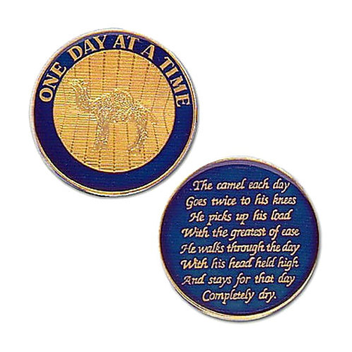 One Day At A Time (Camel) Medallion
