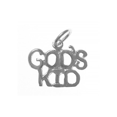 God's Kid Sterling Silver Pendant (Style #813-15)