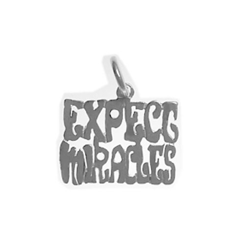 Expect Miracles Sterling Silver Pendant (Style #997)