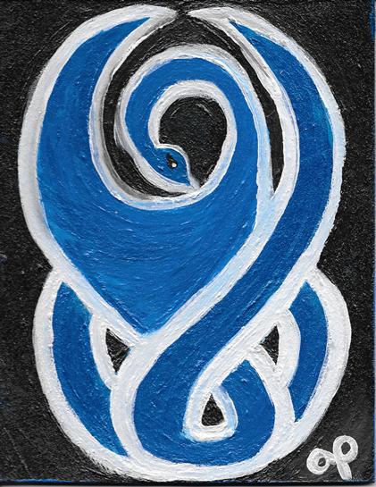 Bluebird Goddess