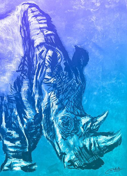 Amazing art rino art.jpg