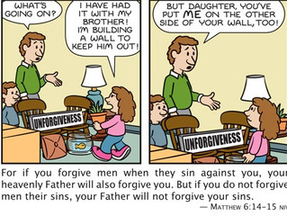 Foundations:  Protect yourself and forgive