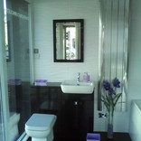 bathroom showcase