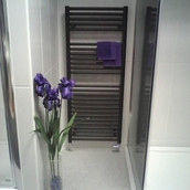towel rail display