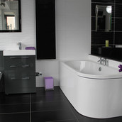 Bathroom main showroom purple