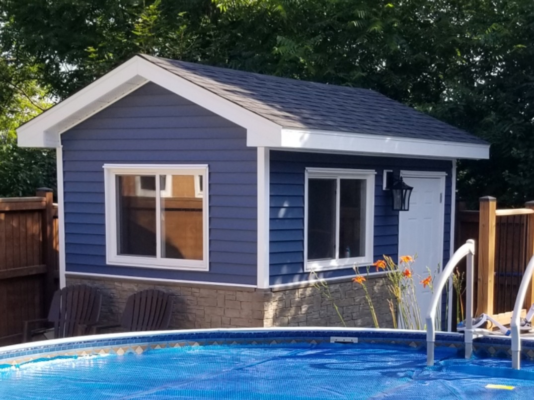 Pool Shed 8' x 12'