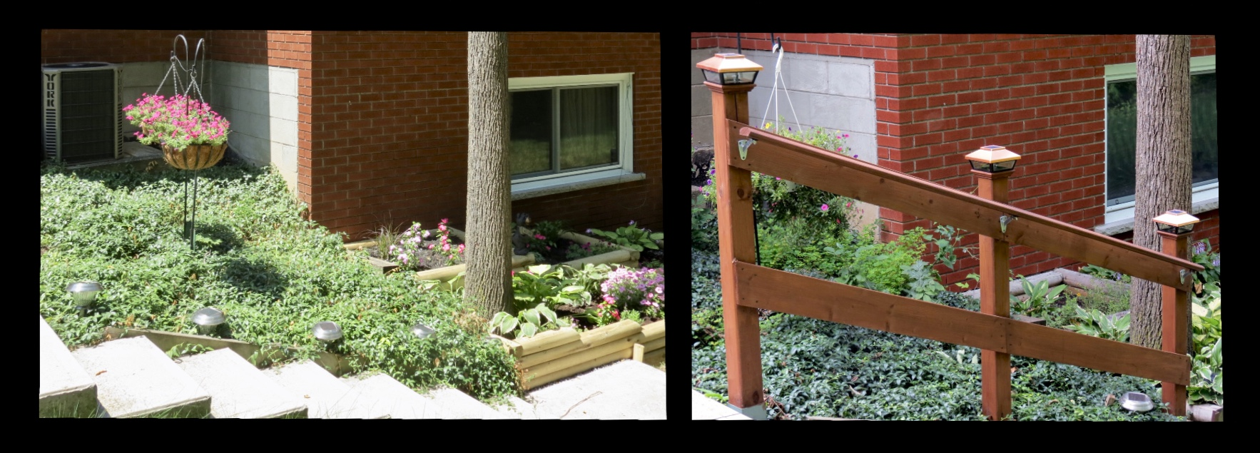 Outdoor Stairs Railing