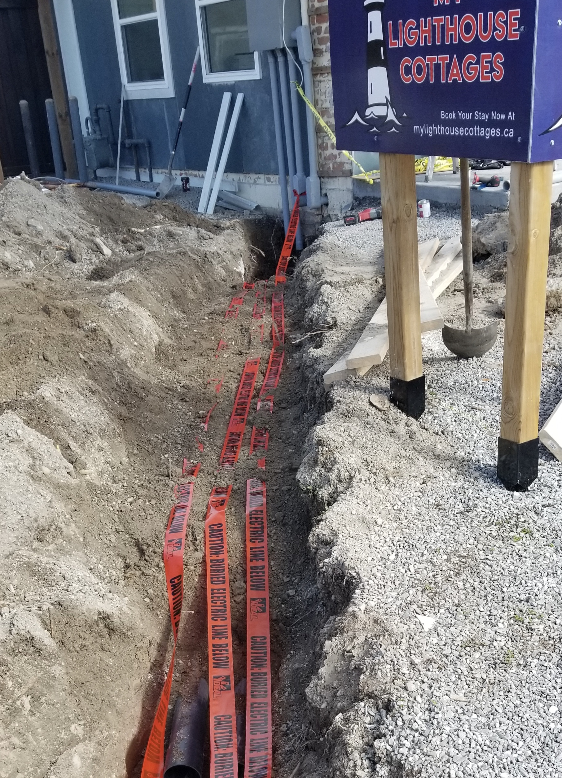 Underground Wiring for Cottages