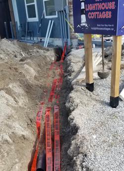 Underground Wiring for Cottages
