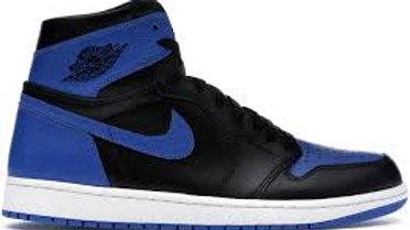 JORDAN 1 BLUE AND BLACK