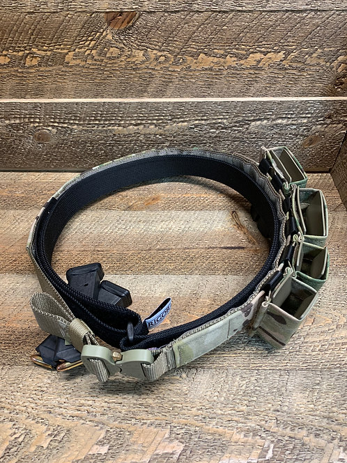 Rigor Belt With Cobra Buckle and Mag Carriers